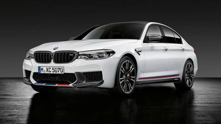 M Performance kiegészítőktől lett morcosabb a BMW M5