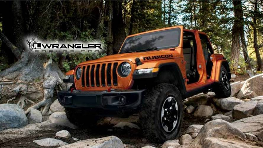 La notice d'utilisation du Jeep Wrangler 2018 en fuite sur le web