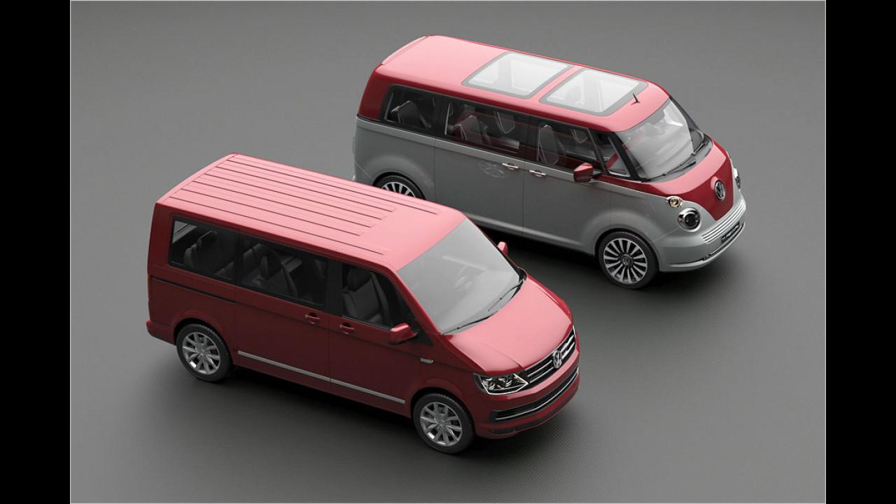 VW T6 und T1 Revival Concept