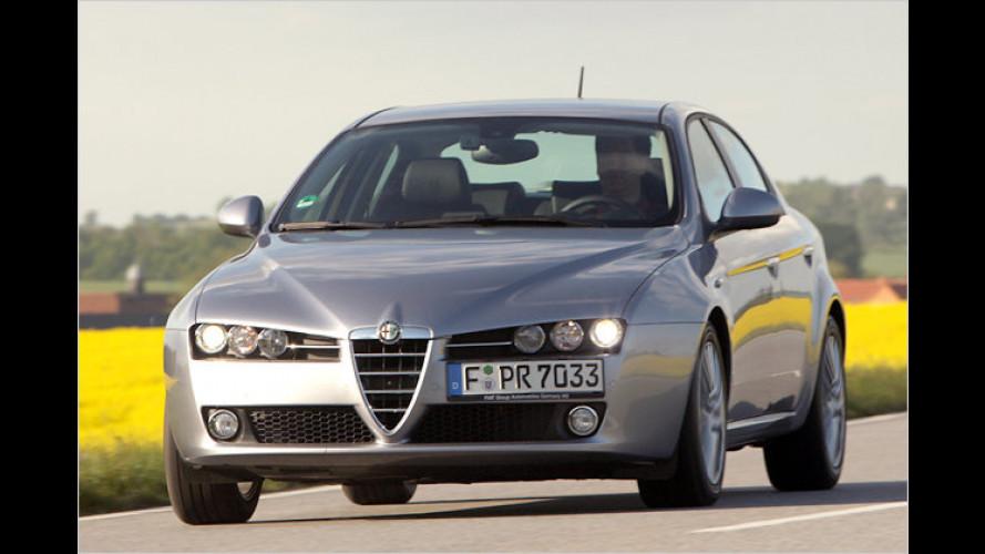 Alfa Romeo 159 mit neuem Basis-Selbstzünder