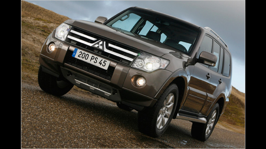 Mitsubishi Pajero 2009: Mehr Power für das Diesel-Tier