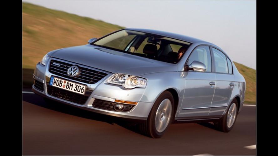 VW Passat BlueMotion: Immer sauberer in die Zukunft