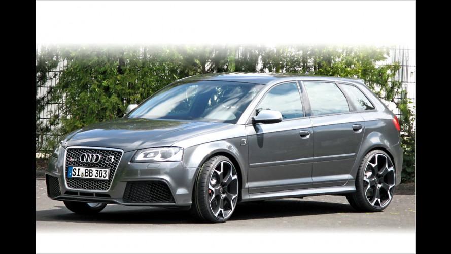 B&B lässt's richtig krachen: Bis zu 510 PS im Audi RS 3