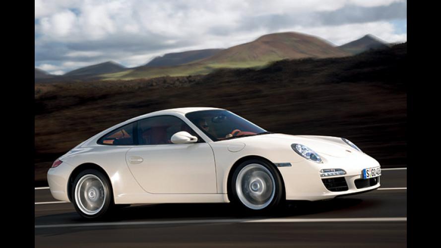 Porsche 911: Carrera und Carrera S sparsamer und stärker