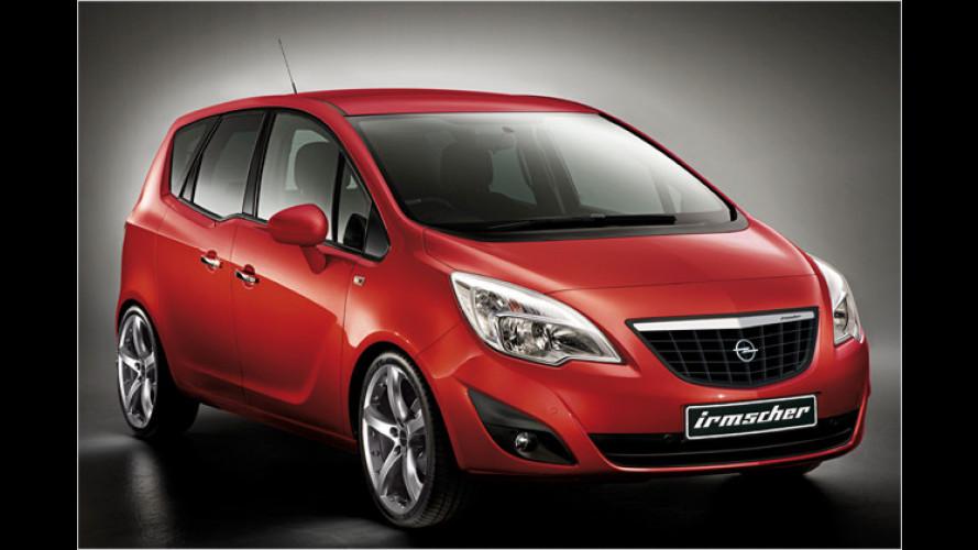 Erstkontakt: Irmscher veredelt den neuen Opel Meriva