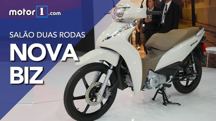 Vídeo - Veja os detalhes da Honda Biz 2018