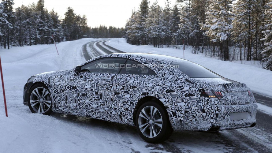 Mercedes-Benz S-Class Coupe spied for a second time