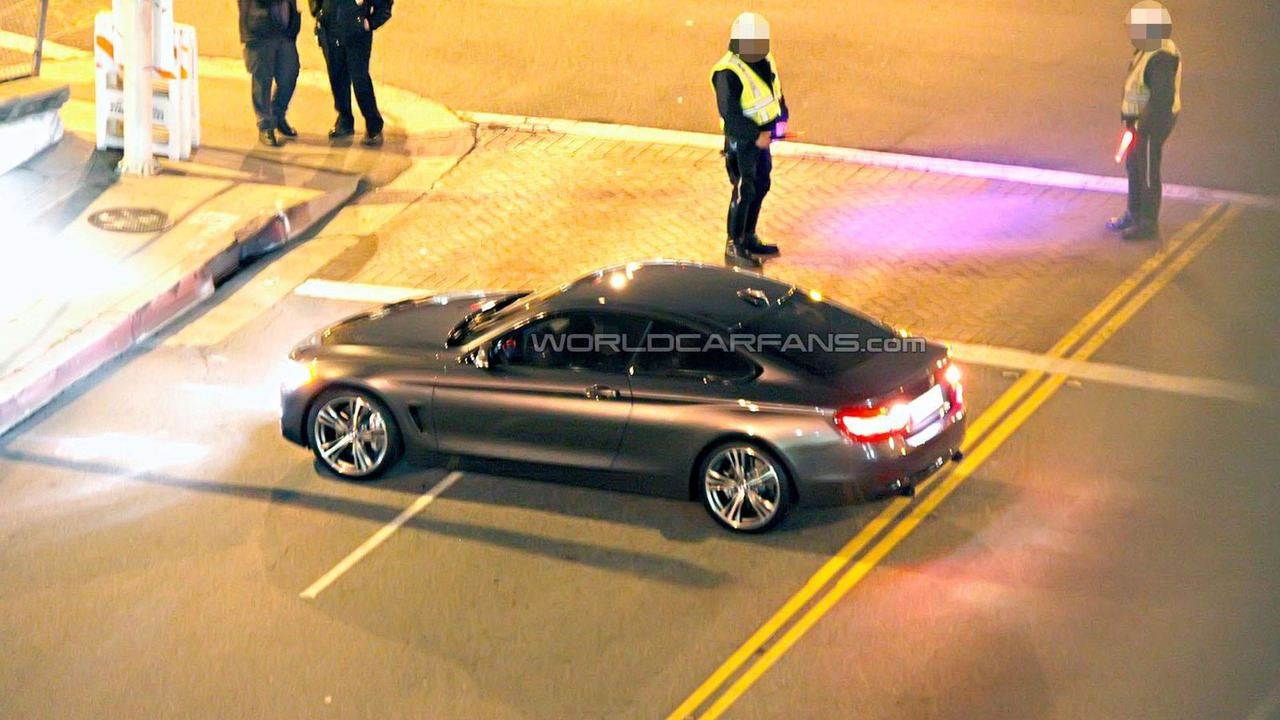 BMW 4-Series Coupe spy photo 22.3.2013