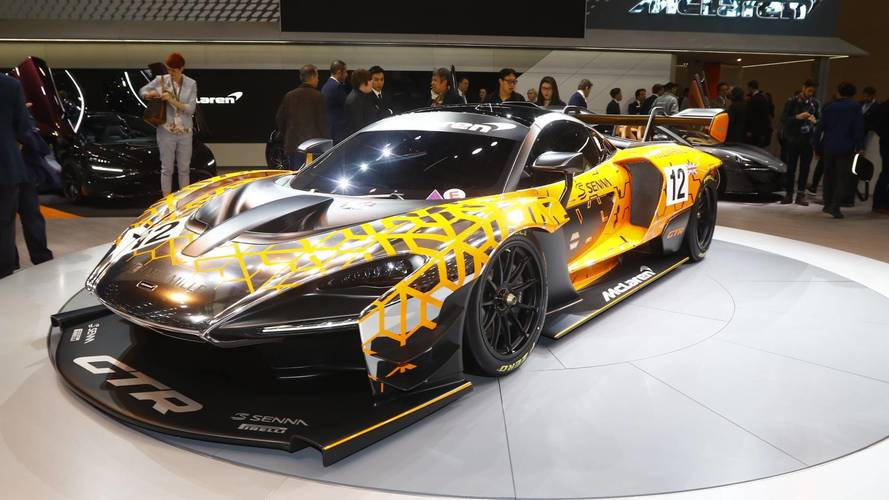 McLaren Senna GTR Concept Is Brand's Fastest Non-F1 Car Ever
