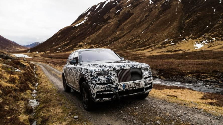 VIDÉO - Le Rolls-Royce Cullinan et les Highlands d'Écosse