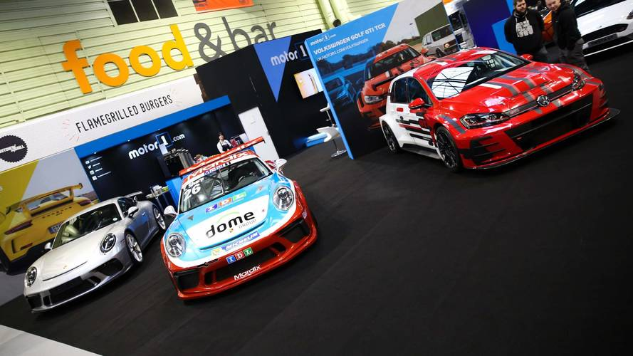 Gallery: Motor1.com stand at 2018 Autosport International