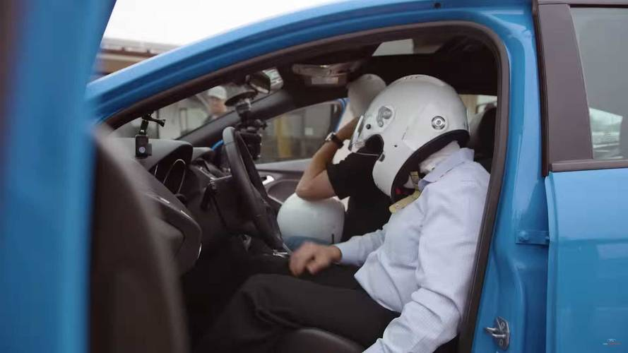 Ford Focus RS Drift Stick Testing