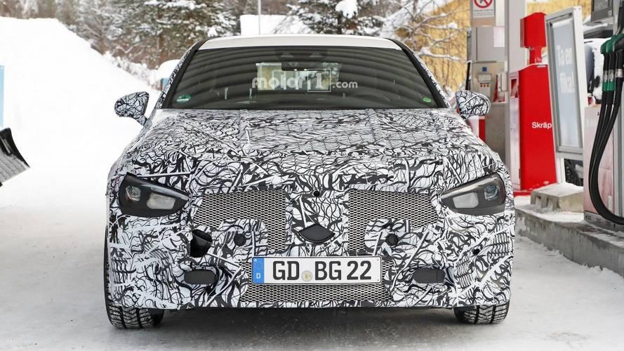 Mercedes-Benz CLA en photos espion