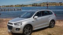 Holden Captiva facelift