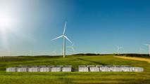 Tesla power storage facility