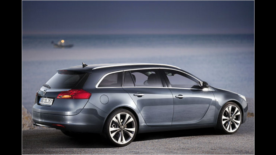 Zeit für Schnäppchen? Opel nennt Preis des Insignia-Kombi