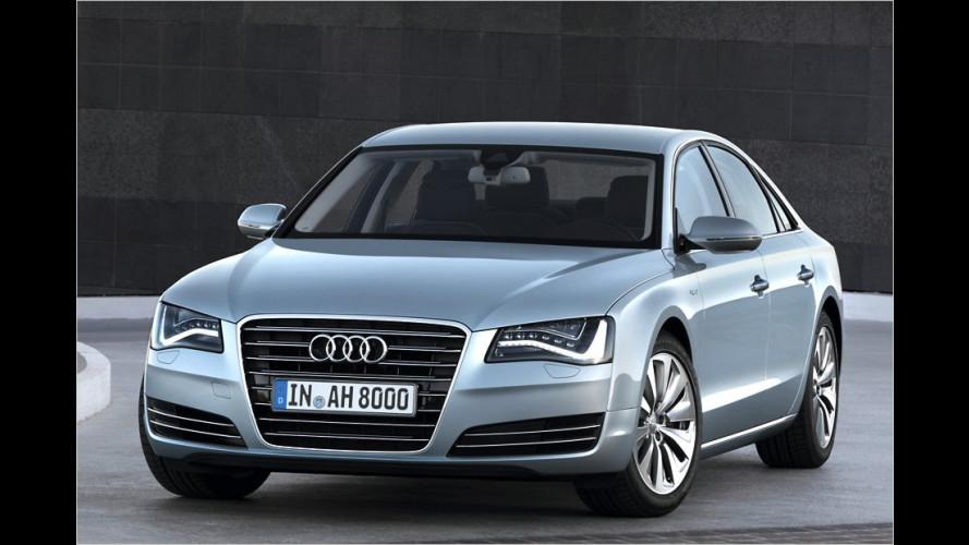 Audi A8 hybrid: Großes Auto, kleiner Verbrauch