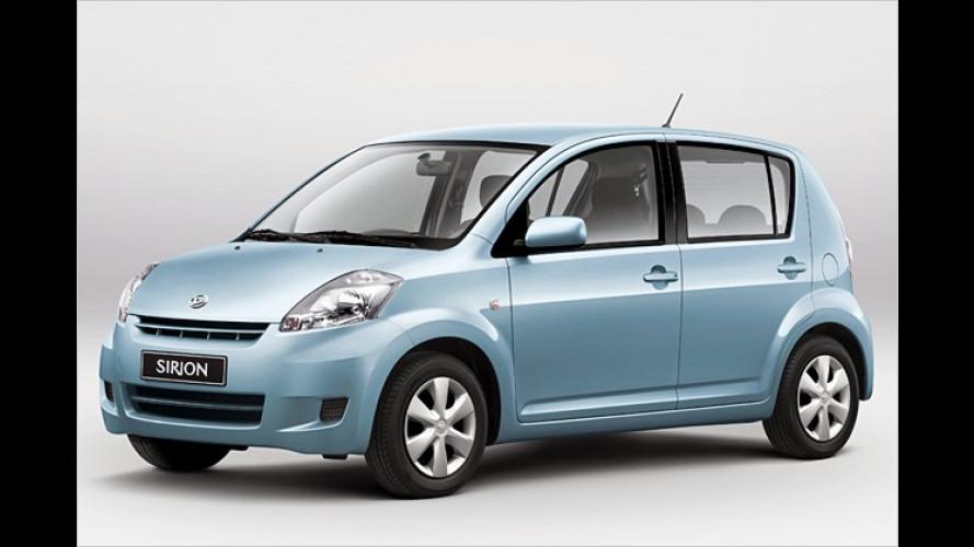 Daihatsu zahlt den Sprit für die ersten 10.000 Kilometer