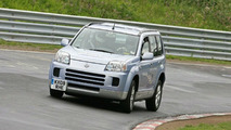 Nissan X-Trail FCV at Nurburgring Nordschleife