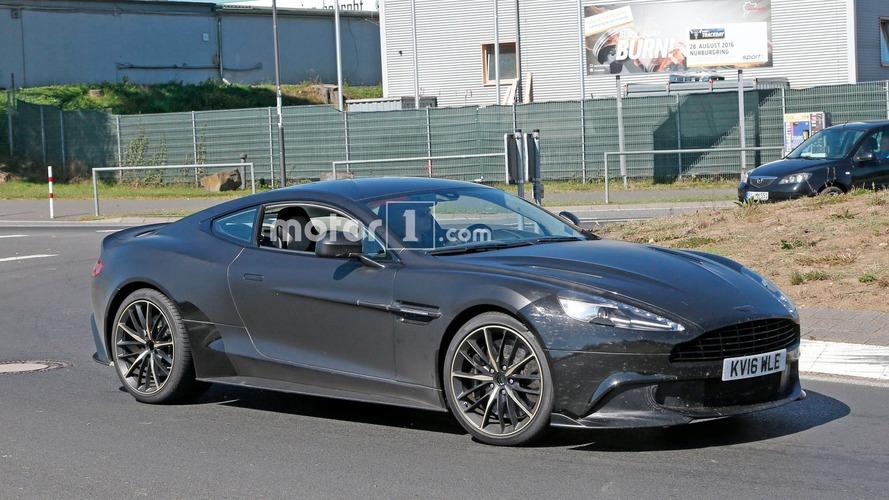 Aston Martin Vanquish S - A nouveau surprise sur la route