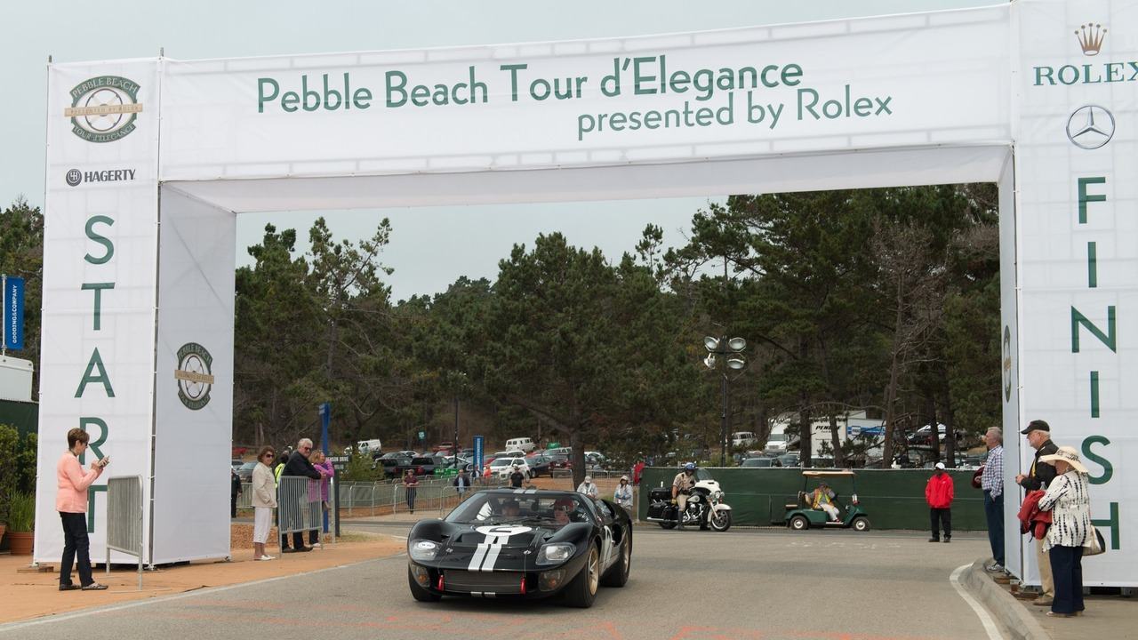 2016 Pebble Beach Tour d'Elegance