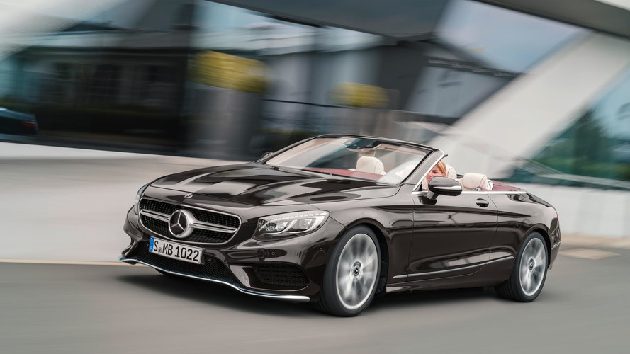 Order books open for Mercedes' new £116k S-Class Cabriolet