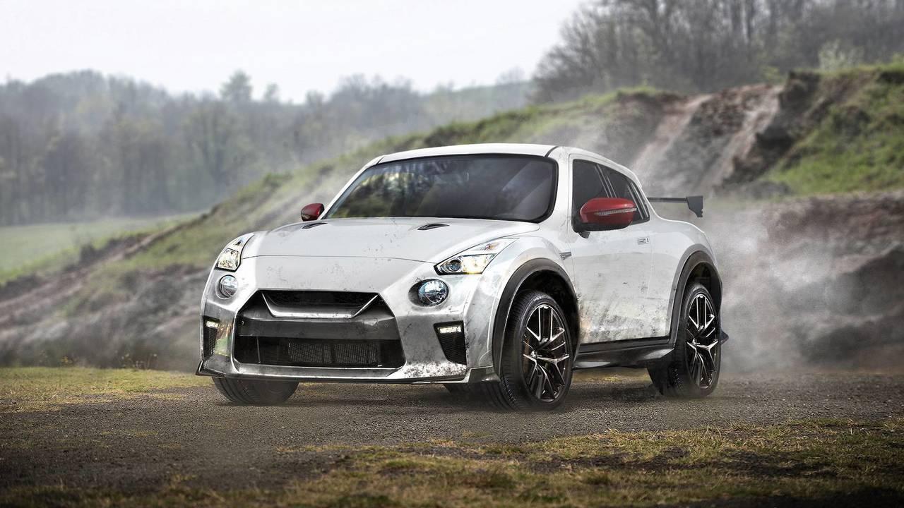 Nissan GT-R and Juke mashup