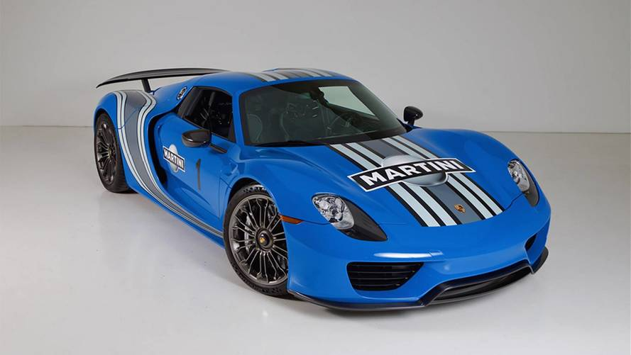 Buy The World's Only Factory VooDoo Blue Porsche 918 Spyder