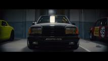 Mercedes 300E Hammer