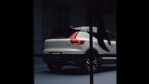 2018 Volvo XC40 screenshot from teaser video