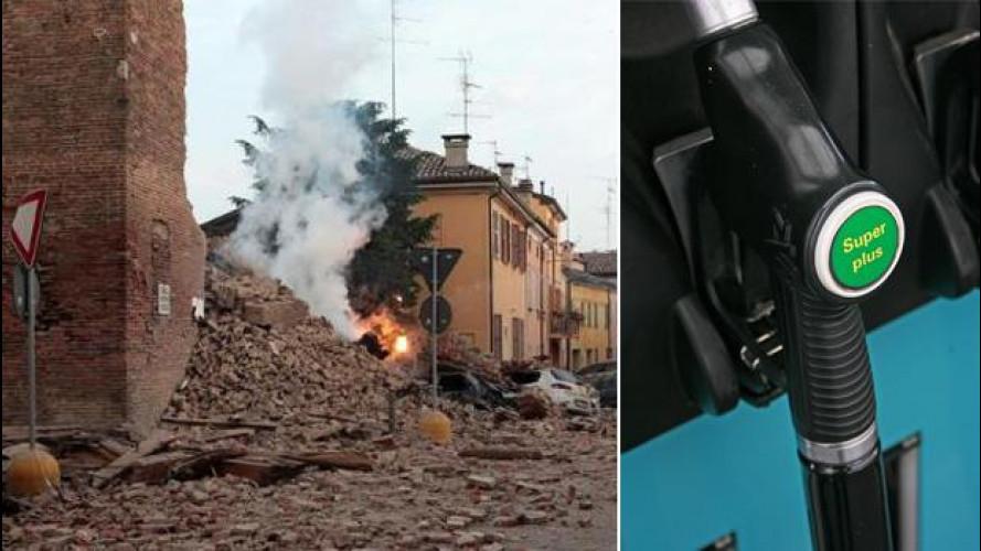 Terremoto Emilia: in vista nuovi aumenti sui carburanti