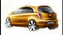 I primi bozzetti della nuova Nissan Micra