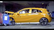 Nuova Mercedes Calsse A - la sicurezza passiva