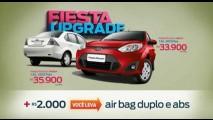 Ford oferece Fiesta RoCam 1.6 com freios ABS e airbags por R$ 35.900
