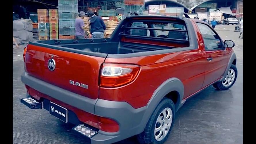 Vídeo: comercial da nova RAM 750, nossa Fiat Strada, no México