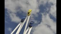 Escultura em Goodwood comemora 50 anos do Porsche 911