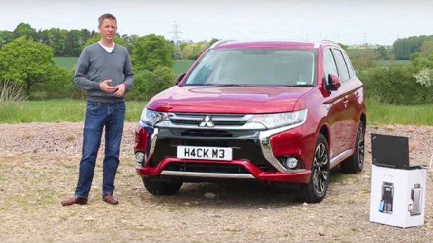 U.K. security firm hacks Mitsubishi Outlander PHEV