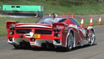 Ferrari FXX on track