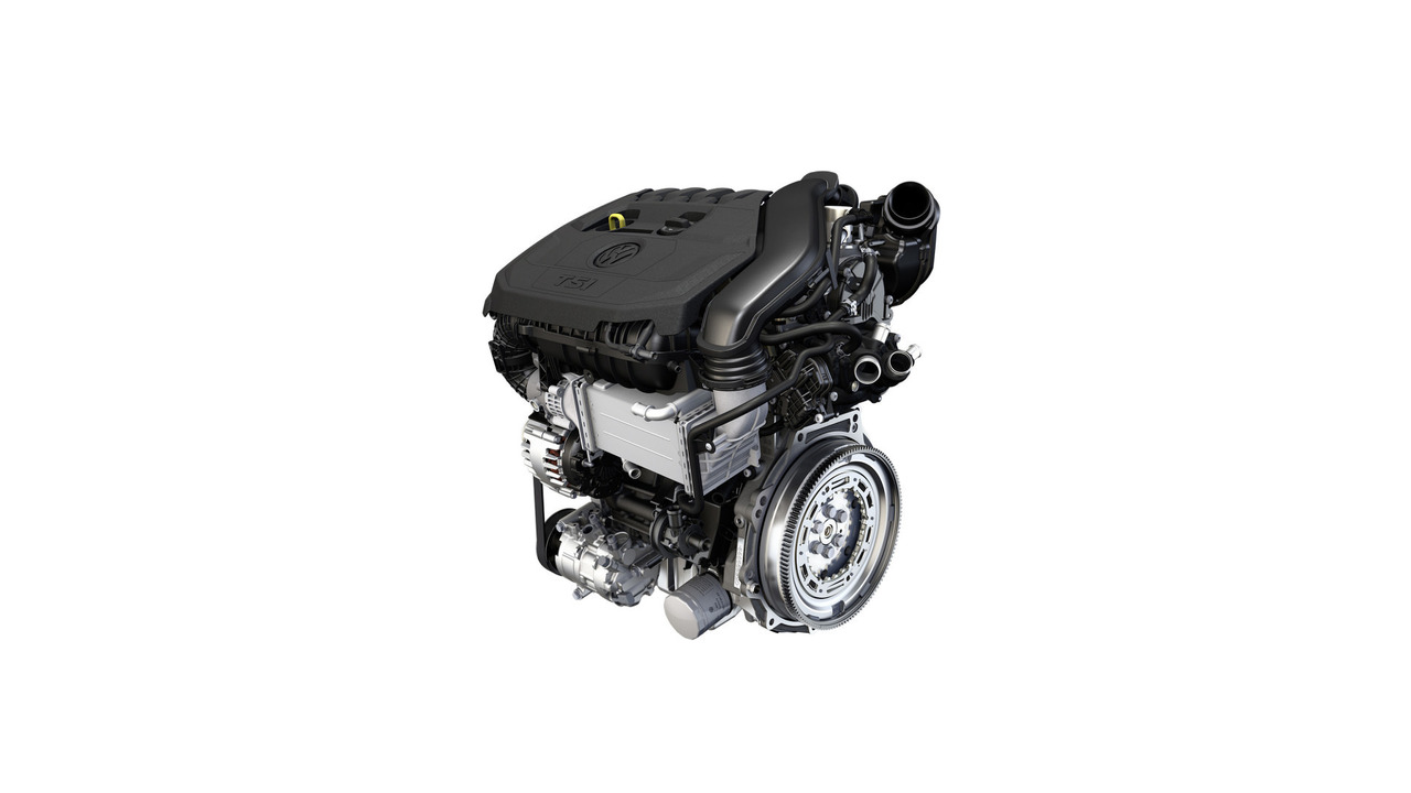 VW 1.5-liter TSI evo engine