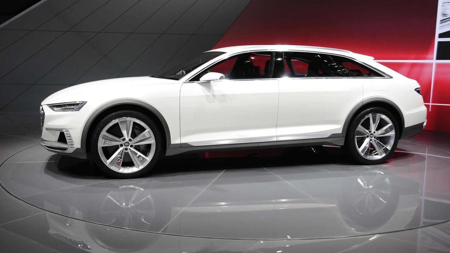 Audi Prologue Allroad concept is a stylish wagon in Shanghai