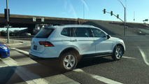 Volkswagen Tiguan XL photos espion