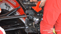 Anti-roll bar on the car of Kimi Raikkonen, Ferrari SF16-H