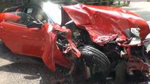Ferrari 599 GTB crash
