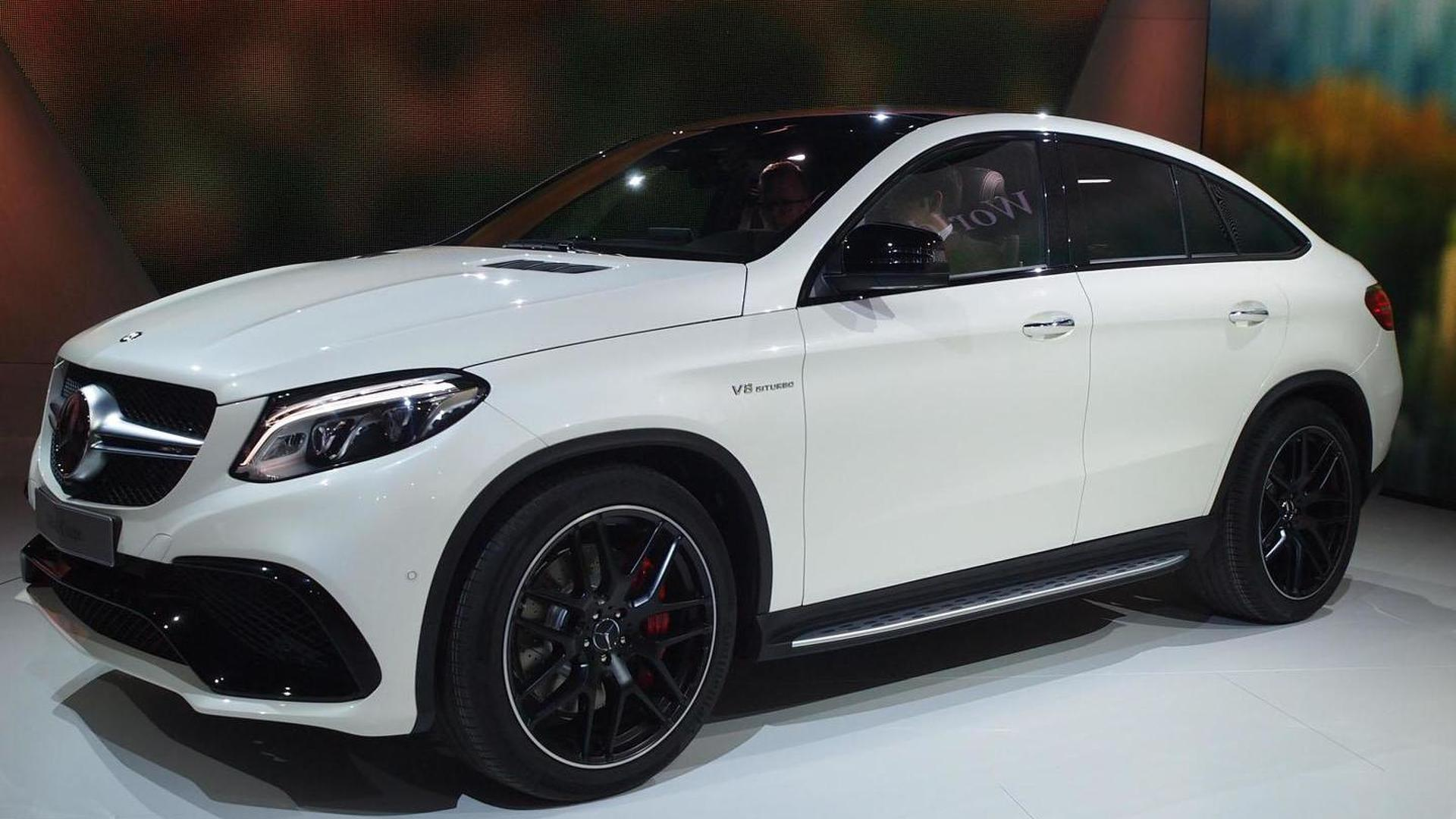 2019 Mercedes Gle350 >> Mercedes-AMG GLE 63 Coupe arrives in Motown with 557 PS