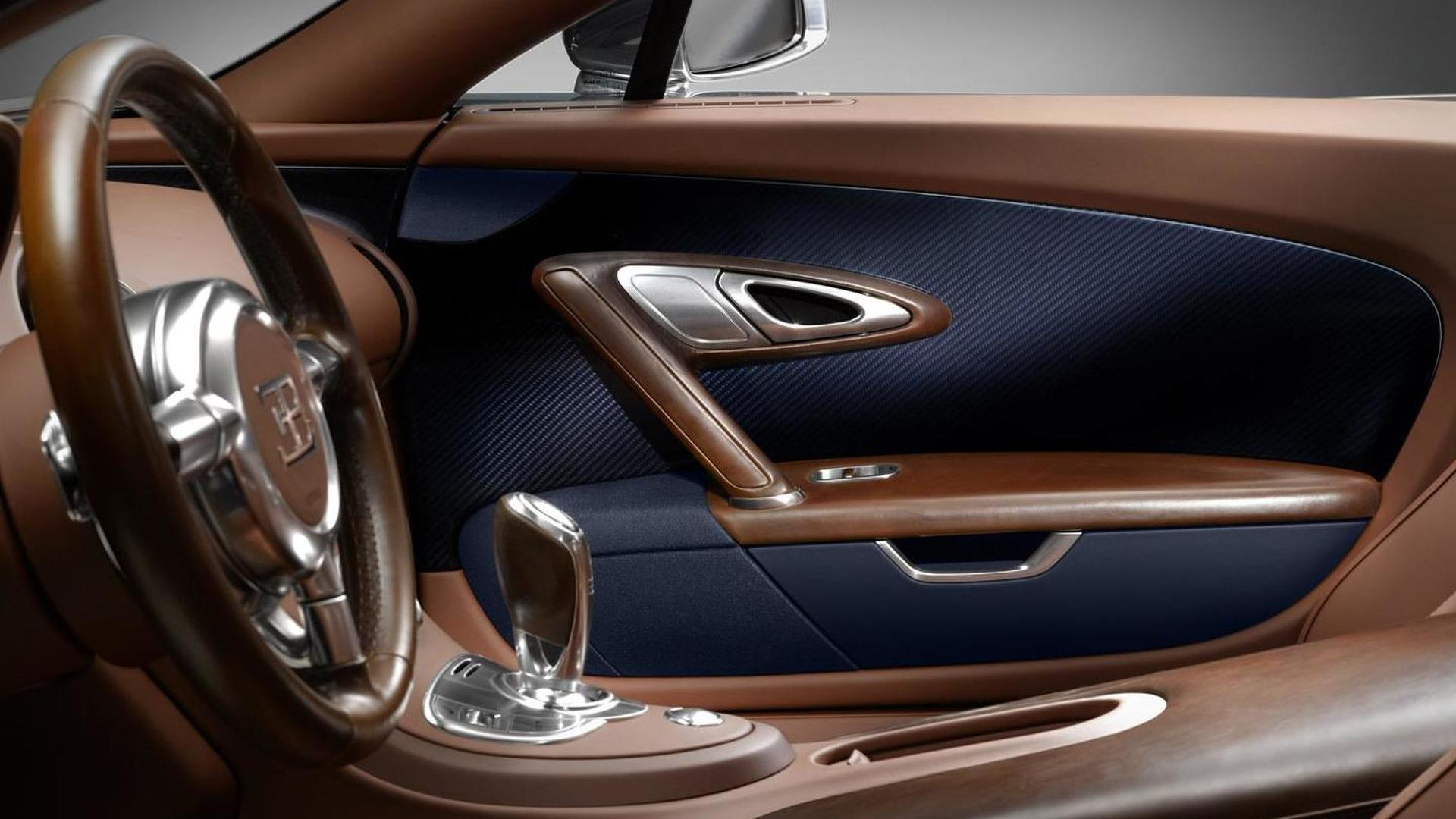 Интерьер Bugatti Veyron Ettore Bugatti Edition