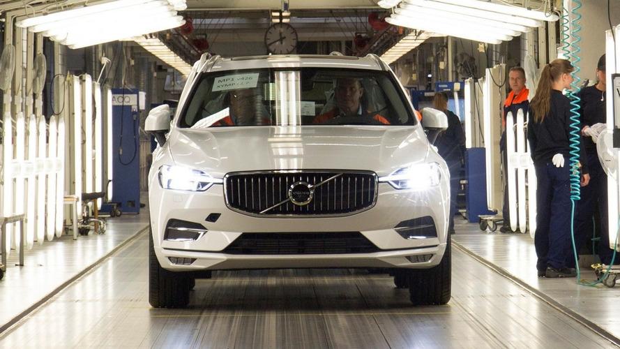 Novo Volvo XC60 2018 começa a sair da linha de produção