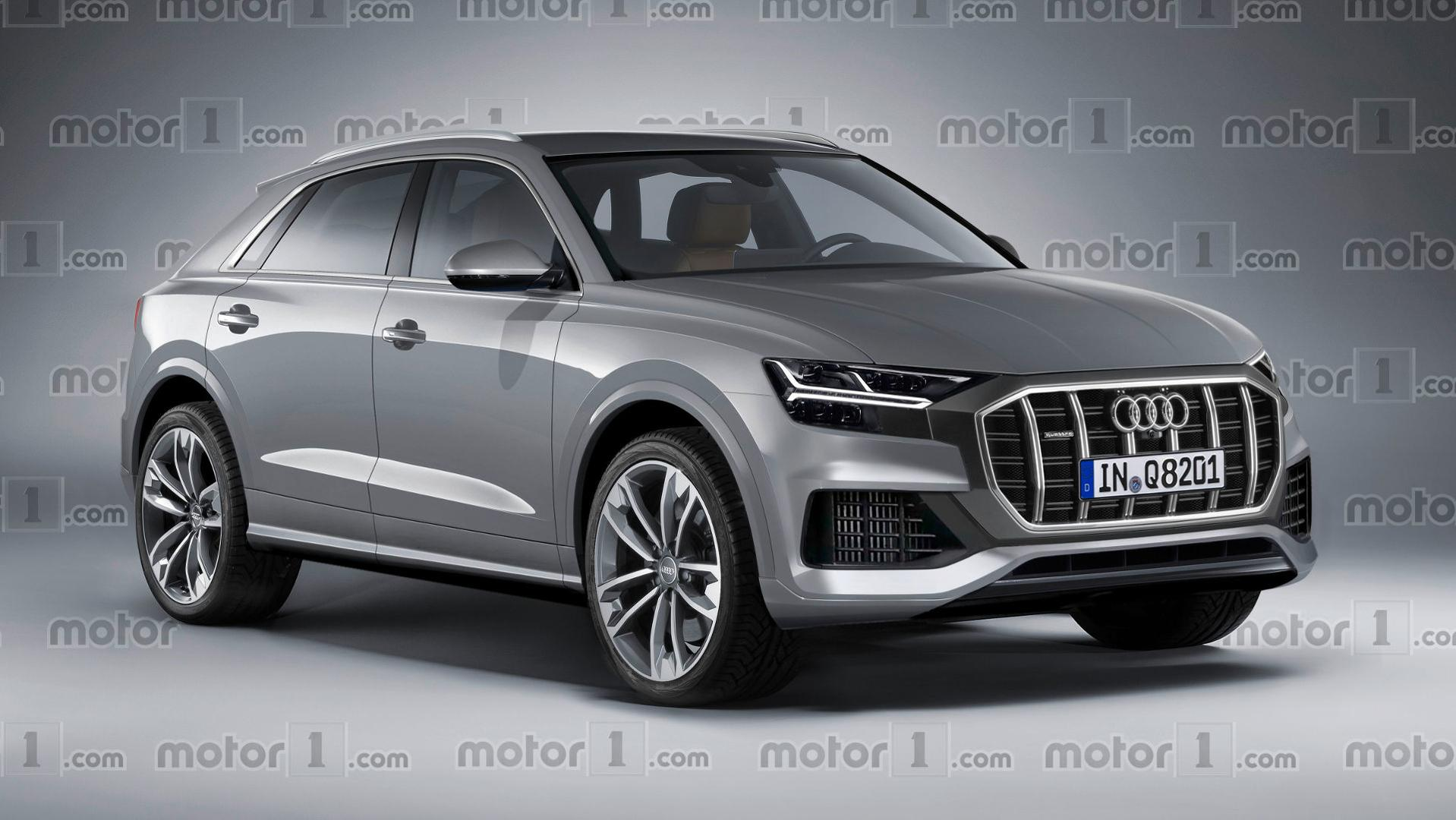 Audi Q8 Render Might Make You Reconsider SUV-Coupes