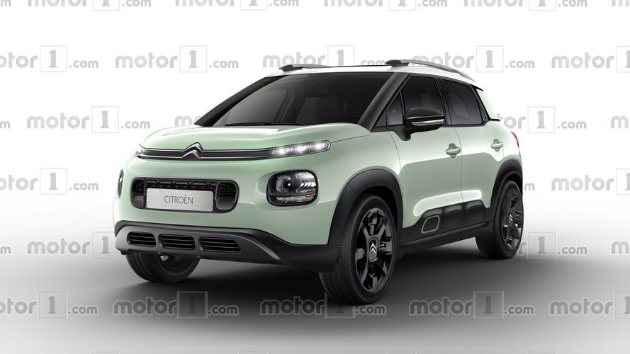 Le Citroën C3 Aircross pourrait bien ressembler à ça