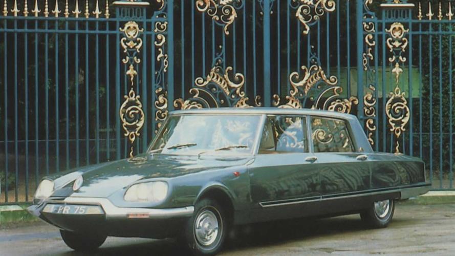 Chantilly - Les voitures présidentielles à la parade !