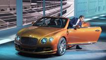 2014 Bentley GT Speed Convertible live in Geneva